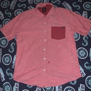 Volcom short sleeve Button up shirt
